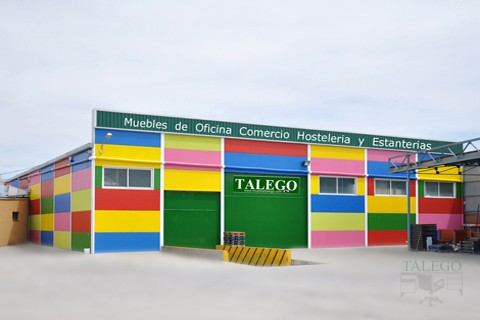 Imagen nave de almacenes muebles de oficina talego