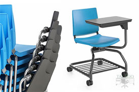 silla de pala fenolica 360º