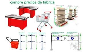 estanteria de supermercado outlet enlace