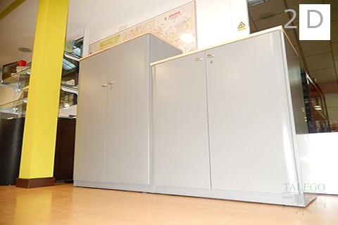 2da armario de oficina metalico bb