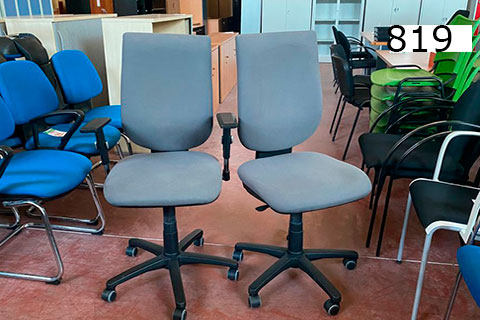 silla de segunda mano