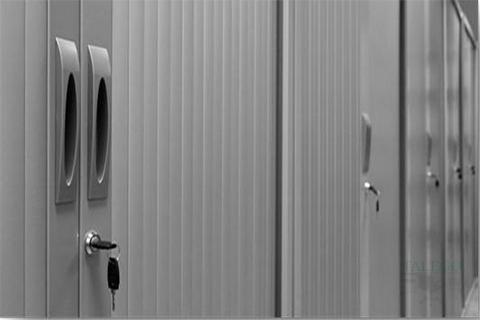 Detalle cerradura armarios de persiana