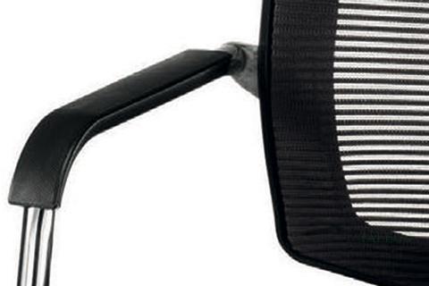 Detalle brazo sillón de Patín modelo Dallasta