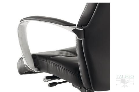 Detalle de brazo Cromado en sillón Dirección modelo Dublinta