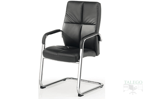 Vista frontal sillón Confidente de patín modelo Dublinta