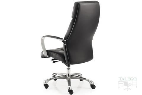 Vista trasera sillón Giratorio respaldo alto modelo Dublinta