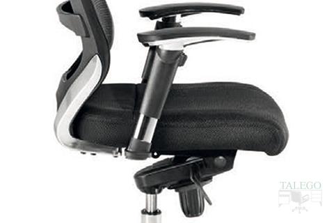 Detalle juego de brazos y asiento del sillón Maltata