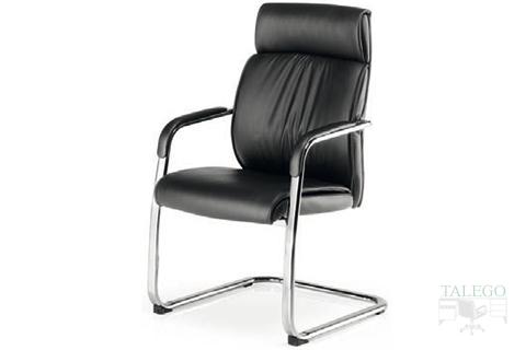 Vista Frontal de sillón confidente de patín modelo Moscuta