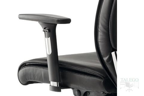 Vista al detalle del brazo regulable del sillón moscuta