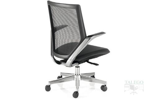Vista Trasera sillón modelo tokiota con respaldo de malla
