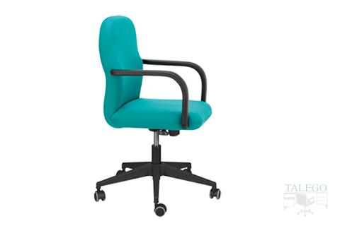 sillón de oficina giratorio respaldo medio modelo aloes