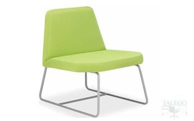 Sofa de una plaza modelo carina adecuado para salas de espera