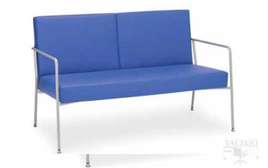 sofa modulo de espera modelo luxon de dos plazas