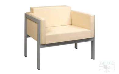 Sofa de una plaza modelo lyra tapizado