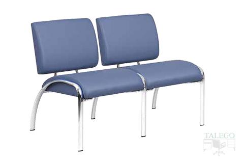 Sofa de dos plazas modelo neo para salas de espera