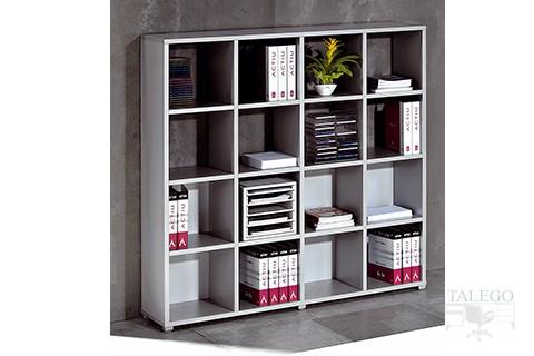 Armario cubic sin puertas con diferentes posibilidades de archivo