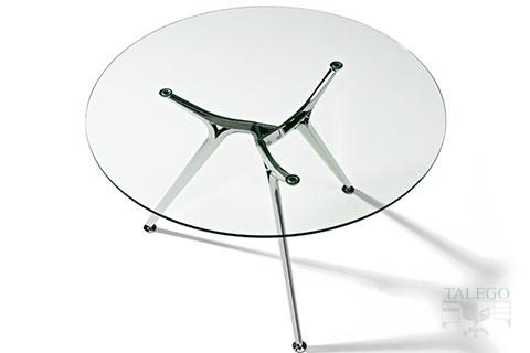 Mesa de Juntas Redonda de cristal del Modelo Arkitek