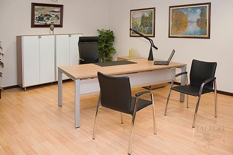 Despacho vital Plus en arce con Faldón metálico