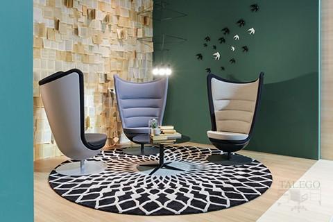 Composición con tres sofas del modelo Badmington