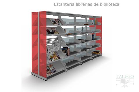 Proyecto estanterias para biblioteca