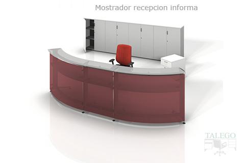 Proyecto de Recepcion con silla y armarios