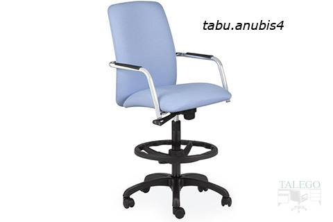 Taburete realizado a partir de sillon de trabajo modelo anubis