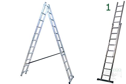 Muebles talego muebles de oficina y hosteler a madrid y toledo escalera tijera ro varios - Escalera dos tramos ...