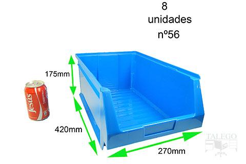 GAveta de plastico apilable