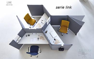 Divisorias modelo link para crear diferentes puestos de trabajo