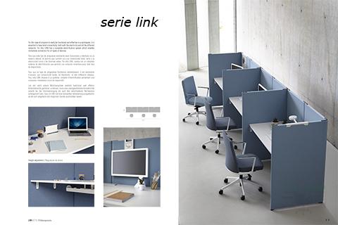 Serie link para separar mesa en varios puestos