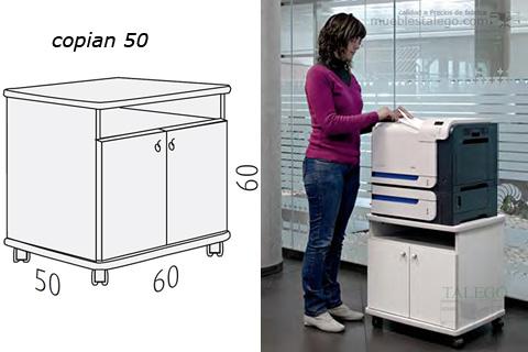 Mueble para fotocopiadora copiant 50 en blanco