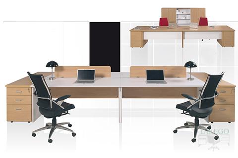 Puesto doble de oficina en la serie ch dado