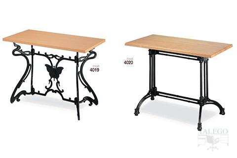 Mesas de bar estructura metalica modelos 4019 y 4020
