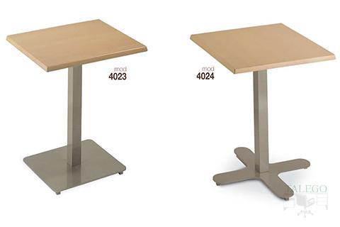 Mesas de bar estructura metalica modelos 4023 y 4024