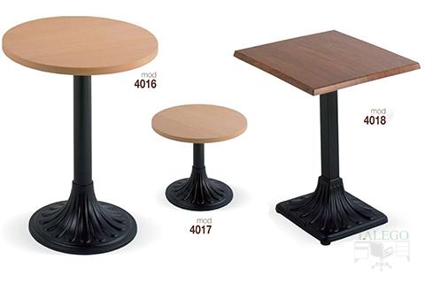 Mesas de bar estructura metalica modelos 4016,4017 y 4018