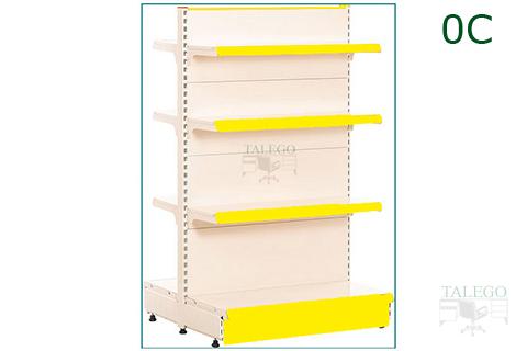 Gondola estanteria outlet con ocho bandejas