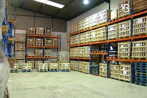 Almacen equipado con estanterias de carga pesada mx