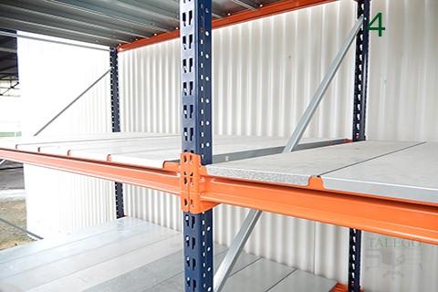 Muebles talego muebles de oficina y hosteler a madrid y toledo estanteria metalica mx ligera - Estanterias metalicas de diseno ...