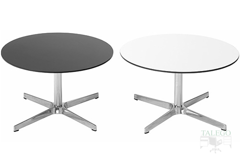 Mesas para sala de espera modelo do waiting con tableros en blanco y negro
