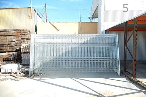 Vendo vallas de obra finest valla plstico peatonal x cm - Vallas de obra ...