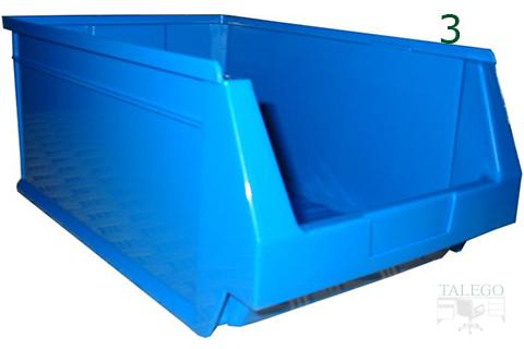 Gaveta de plastico para clasificación de artículos