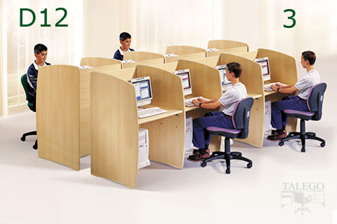 Conjunto de puestos call center en olmo