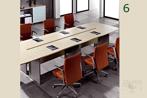 Aplicación de sillón de despacho ber kados para mesa de juntas