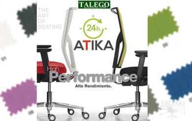 Sillas del modelo do atika enfrentadas aptas para uso 24 horas