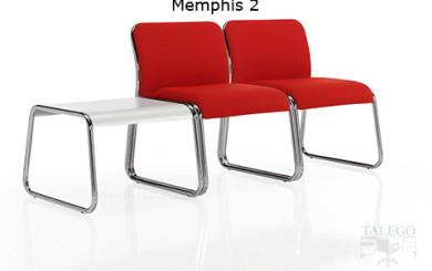 Modulo de espera do memphis dos plazas y mesa auxiliar