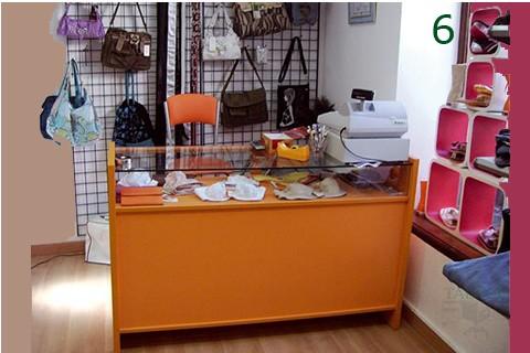 Mostrador de tienda em modelo 3 en madera de haya