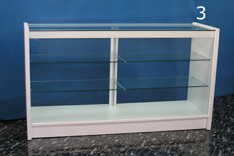 Mostrador de tienda em mod4 acabado en blanco