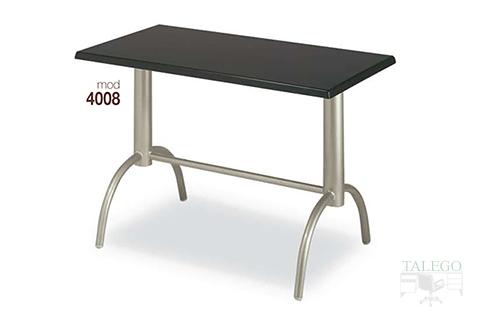 mesas de bar altura normal estructura metalica modelos 4008
