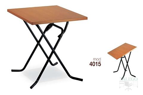 mesas de bar altura normal estructura metalica modelos 4015