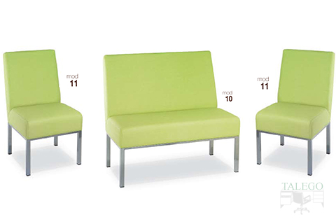 Sofas en tapizado verde modelos 10 y 11 GH